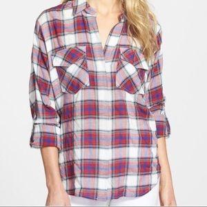Sam Edelman Plaid Shirt